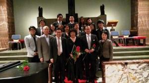 노숙자음악의 밤 후원 및 참석자 선교교회